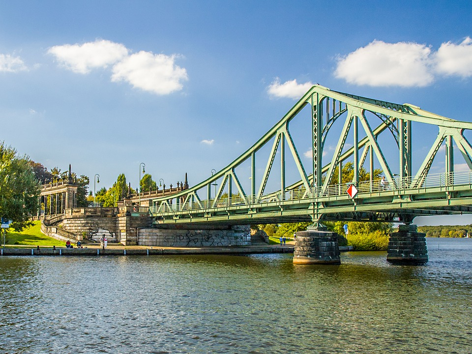 Potsdam, Glienicker Bridge, Bridge, Havel, Landmark