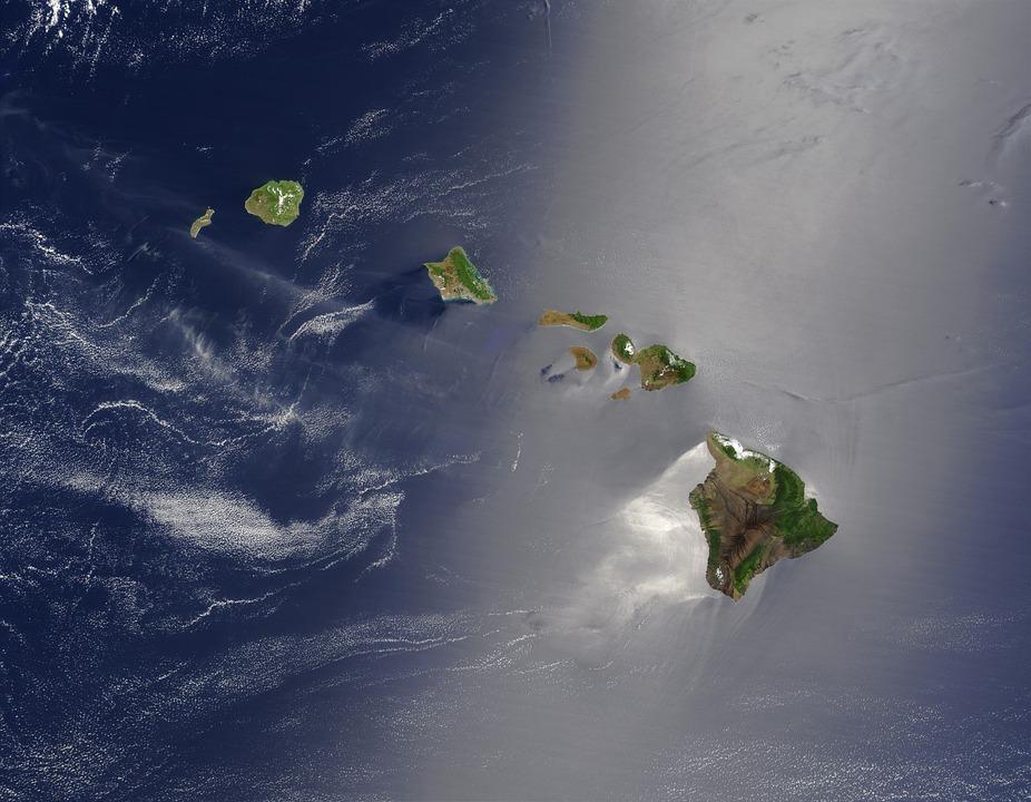 Hawaii, Islands, Island Chain, Archipelago, South Sea