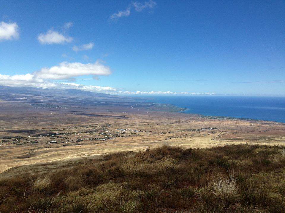 West Hawaii, Coastline, Hawaii Island, Ocean, Island