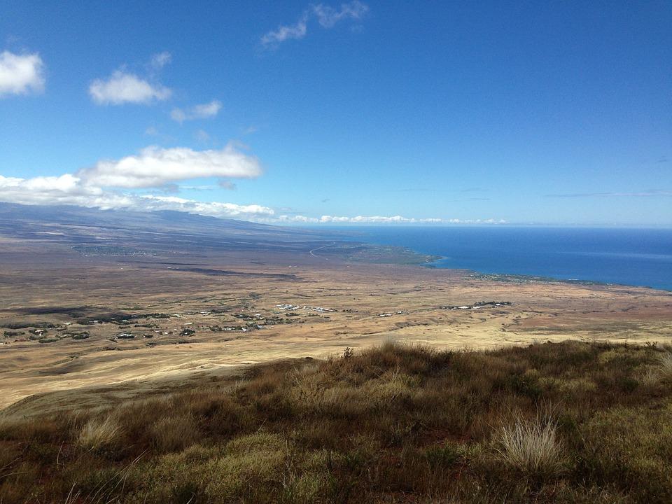 West Hawaii, Coastline, Hawaii Island, Ocean, Island