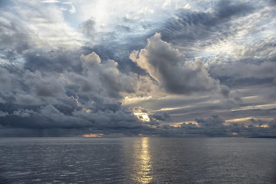 Boat, Sky, Hawaii, Evening