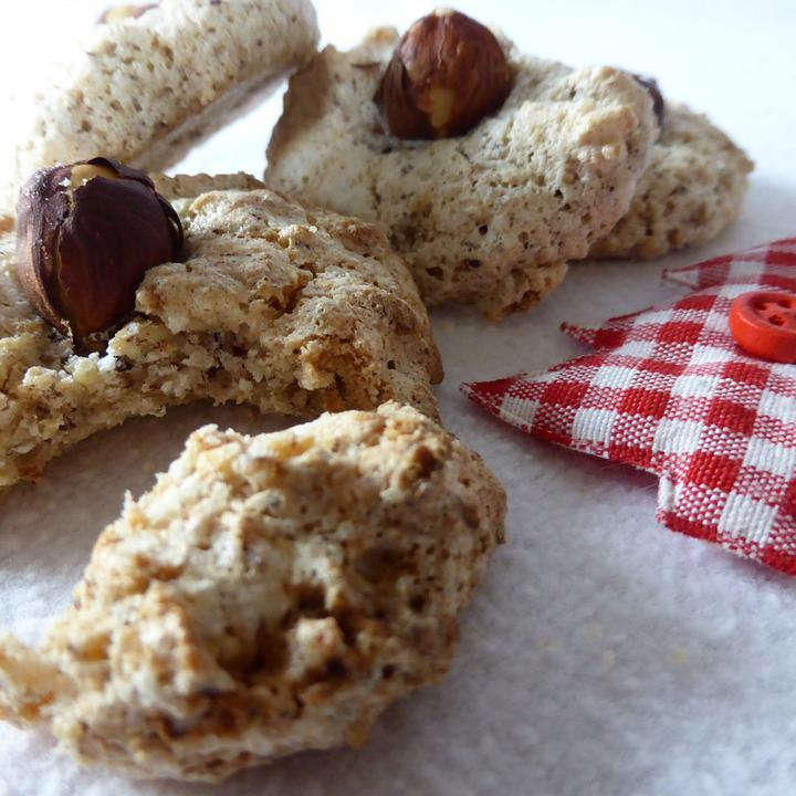 Free Photo Hazel Nut Pastries Protein Cookie Christmas Cookies Max