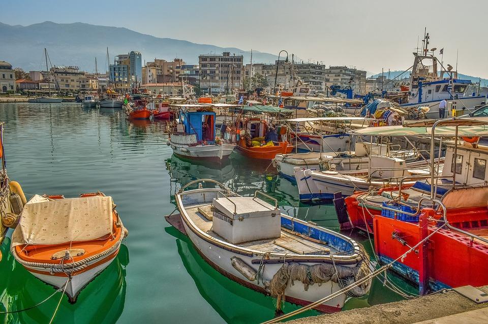 Boats, Port, Harbour, Sea, Dock, Morning, Hazy