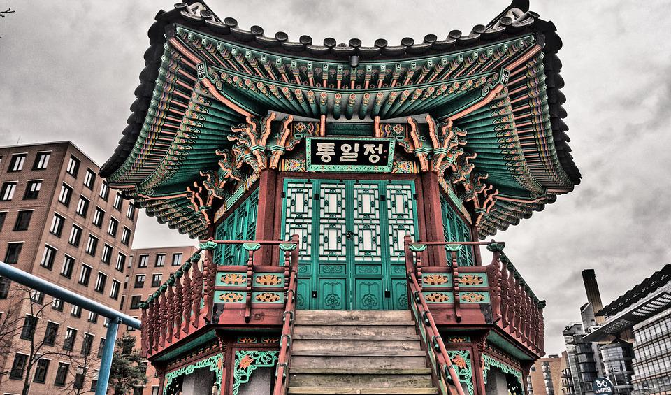 Architecture, Chinese Home, Hdr