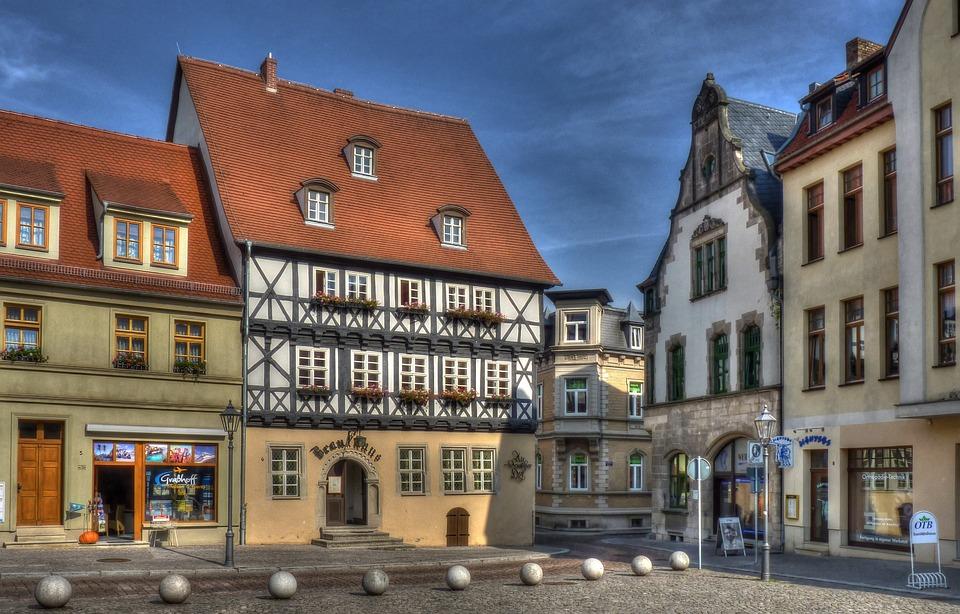 Brauhaus, Köthen, Architecture, Hdr