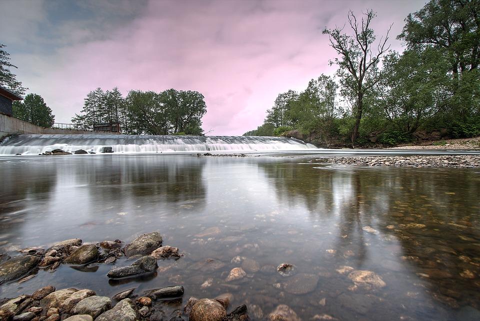 Nature, River, Landscape, Water, Fluent, Trough, Hdr