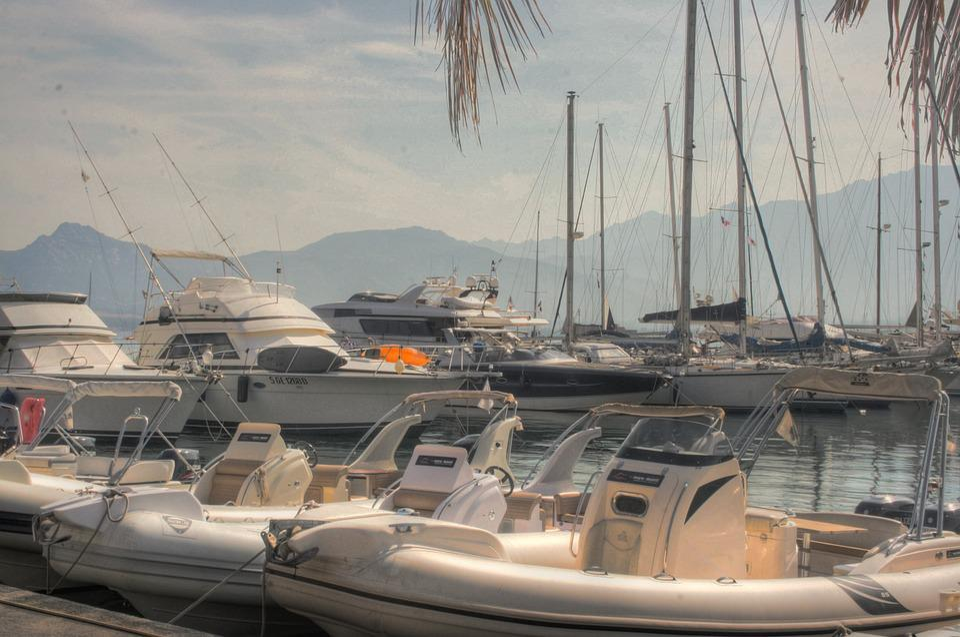 Port, Boats, Sea, Powerboat, Summer, Hdr