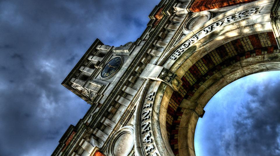 Monument, Sky, Hdr, Arch, Stonework