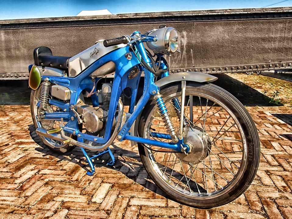Capriola Sport, Motorcycle, Cycle, Transportation, Hdr