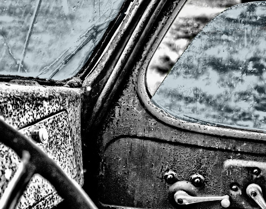 Oldtimer, Car, Window, Vintage, Cockpit, Hdr