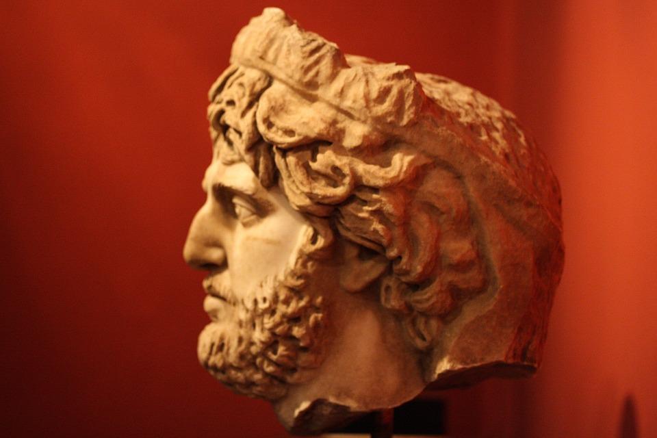Sculpture, Head, Bust, Portrait, Marble, Stone