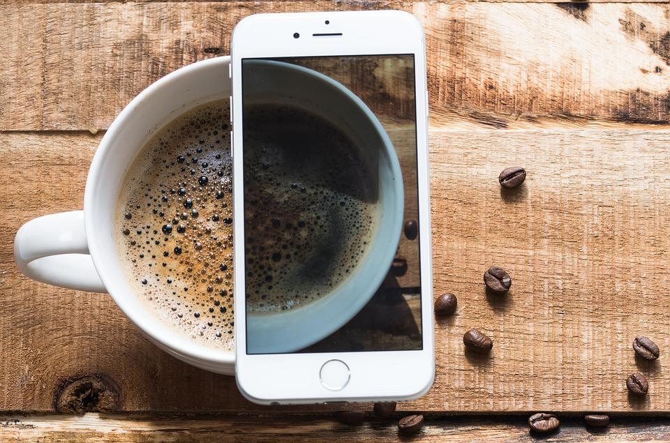 Head, Coffee, Telephone, Coffee Beans, Espresso