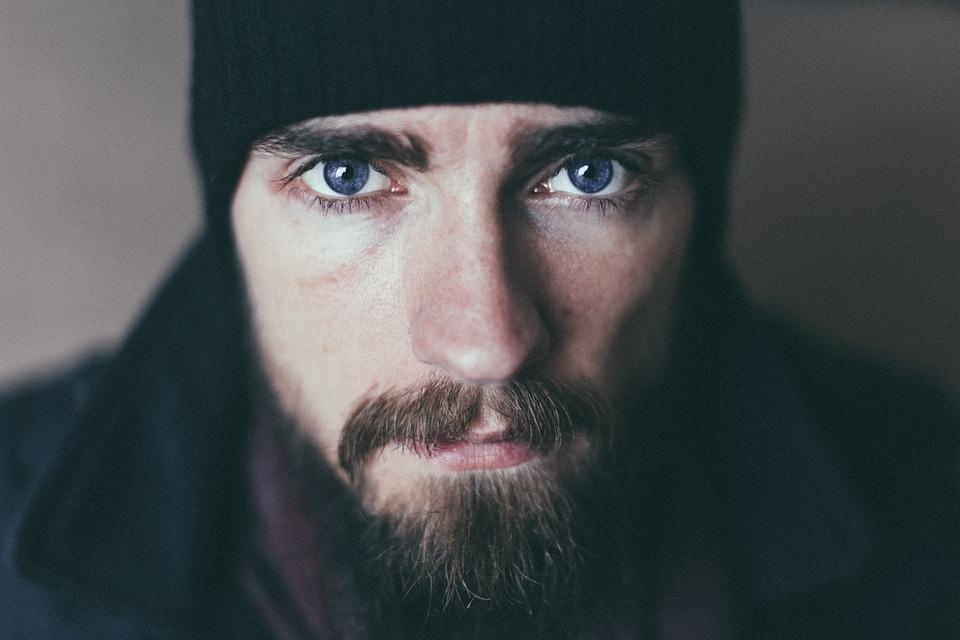 Man, Beard, Mustache, Portrait, Male, Face, Head