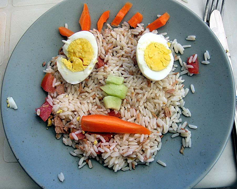 Plate, Food, Head