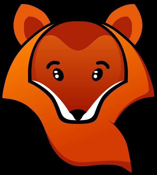 Fox, Animal, Head, Orange, Wild