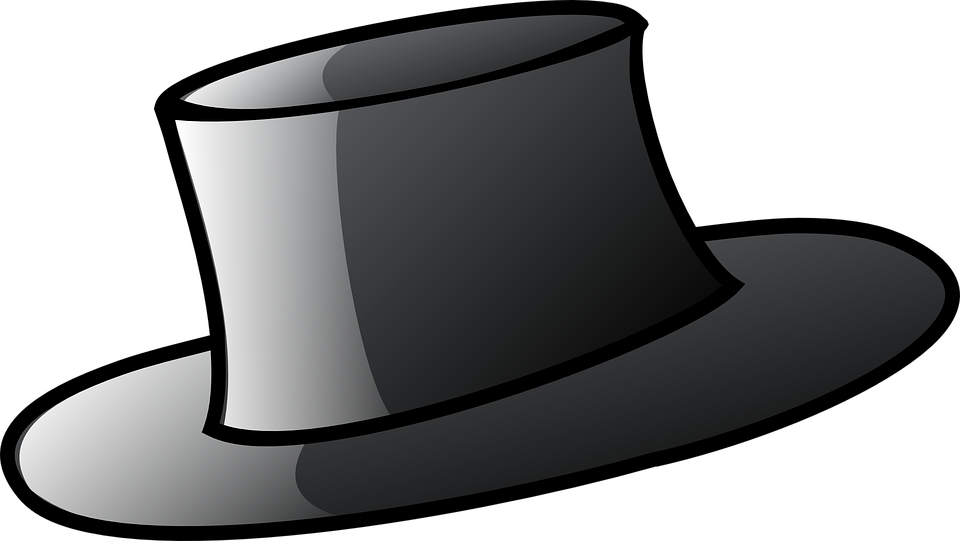Hat, Man, Male, Black, Clothing, Head Gear