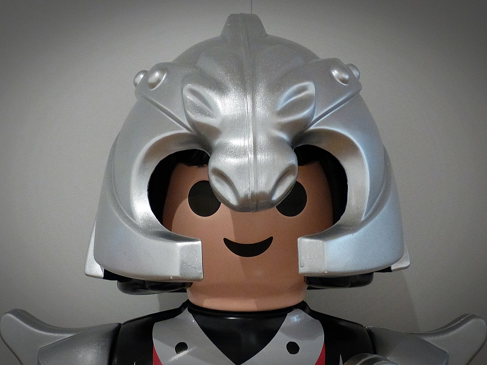 Playmobil, Head, Helm, Knight, Fig, Toys, Figures