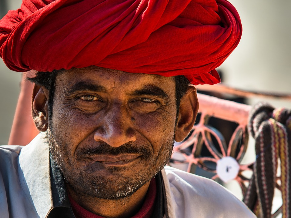 Indians, Turban, Portrait, Man, Human, Head, Face