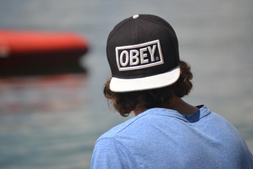 Cap, Boy, Lake, Sun, Water, Head, Hair, Men