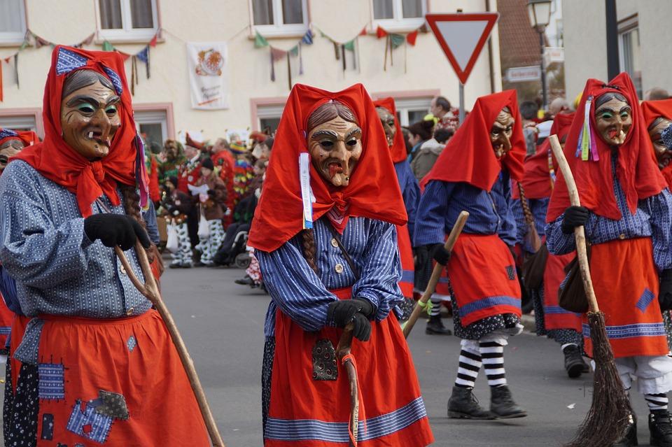 Witches, Fools Guild Ulm, Ulm, Head, Fig, Fool
