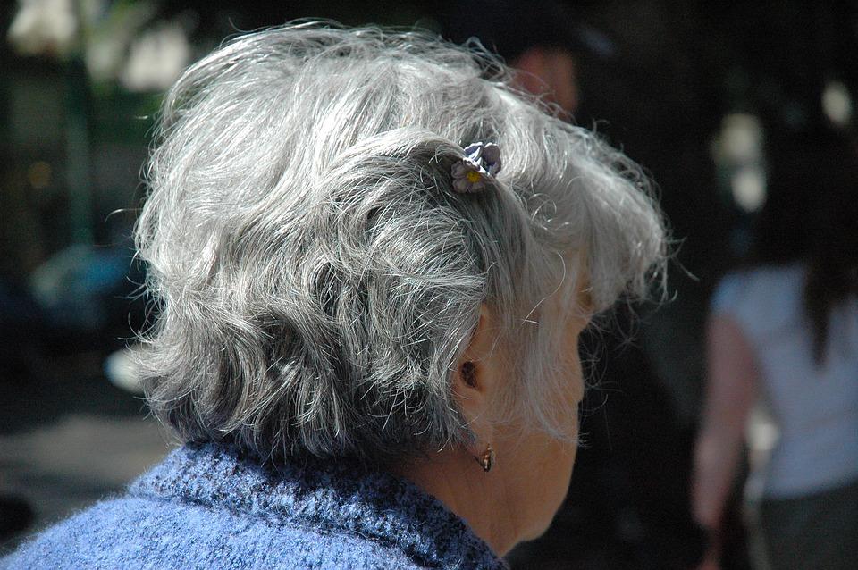 Woman, Senior, Citizens, Female, Head, Hair, Gray, Grey