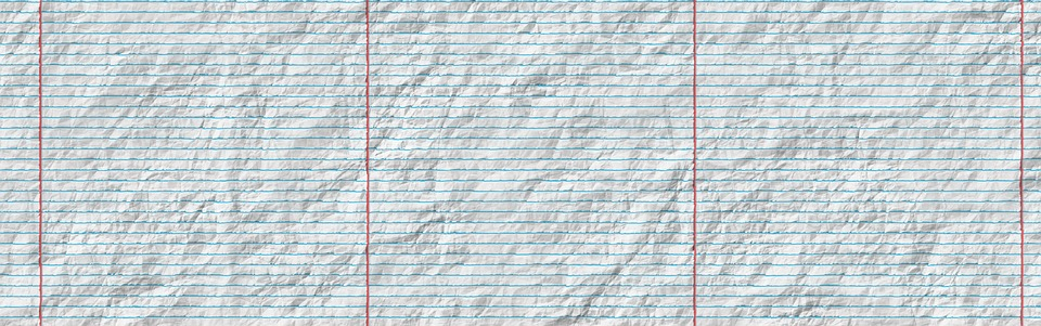 Free Photo Header Paper Crumpled Banner Lined Paper  Max Pixel