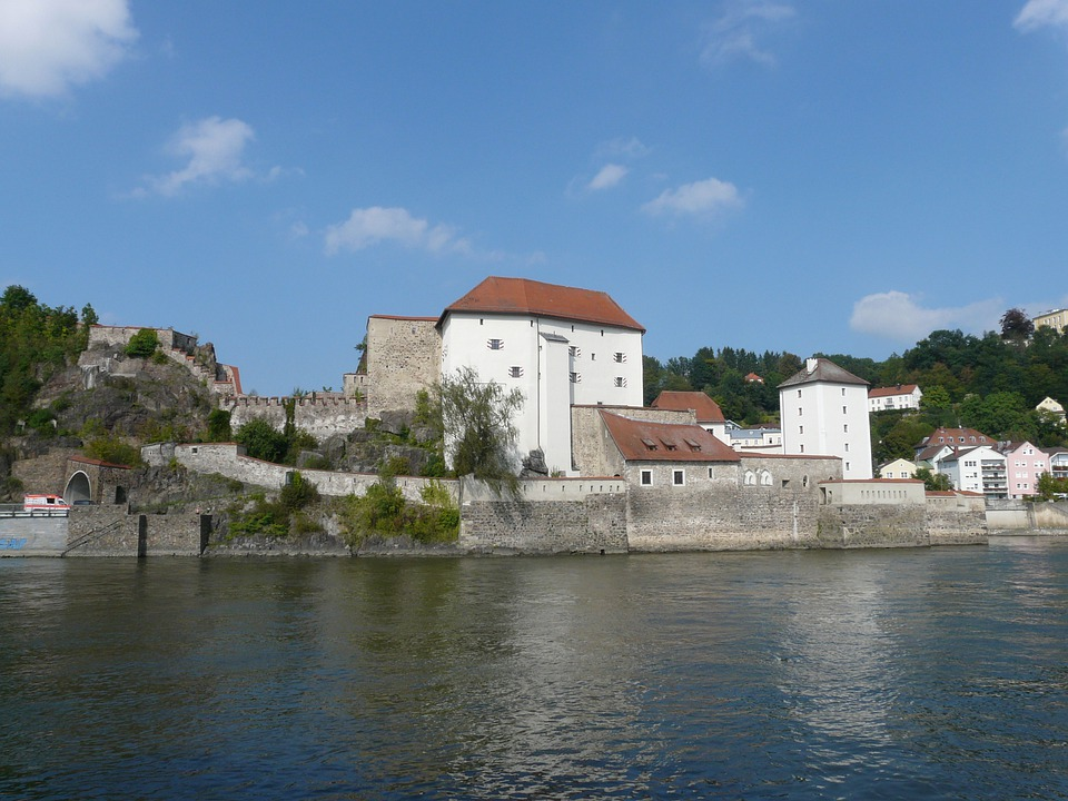 Lower House, Castle, Passau, Headland, Fortress