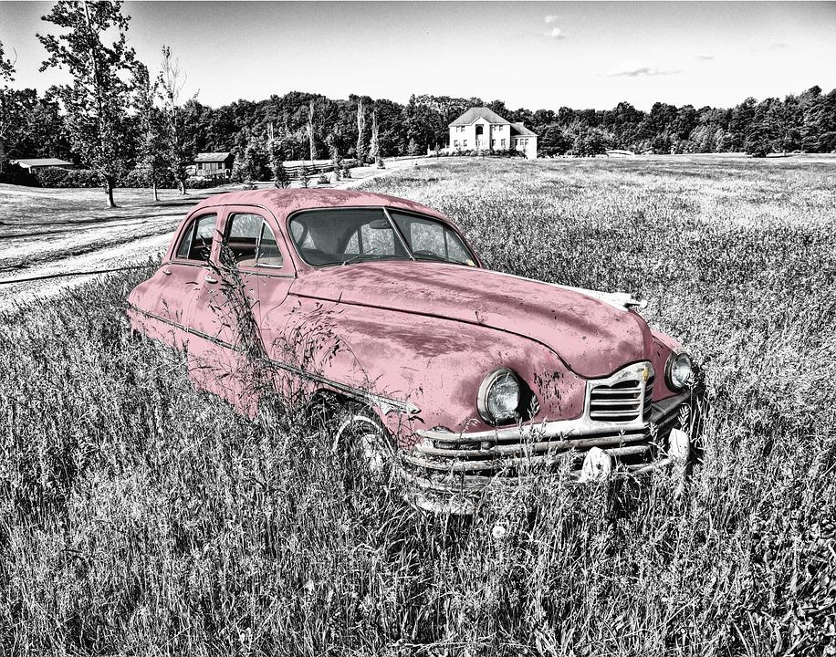 Oldtimer, Car, Old, Vintage, Headlight, Engine Hood