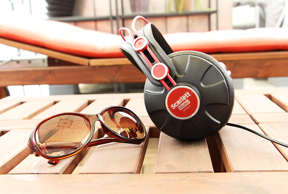 Holiday, Music, Sunglasses, Headphone