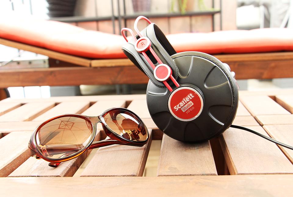 Holiday, Music, Sunglasses, Headphone