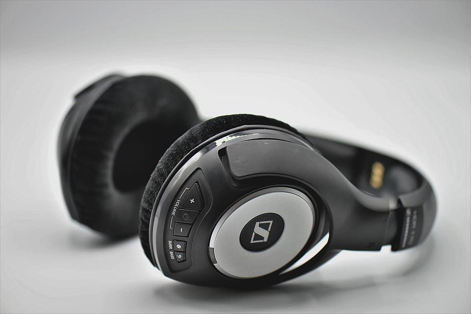 Headphones, Radio, Wireless Headphones, Audio, Sound