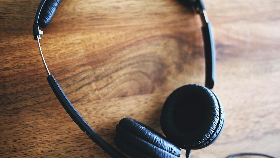 Headphones, Listening To Music, Music, Listen