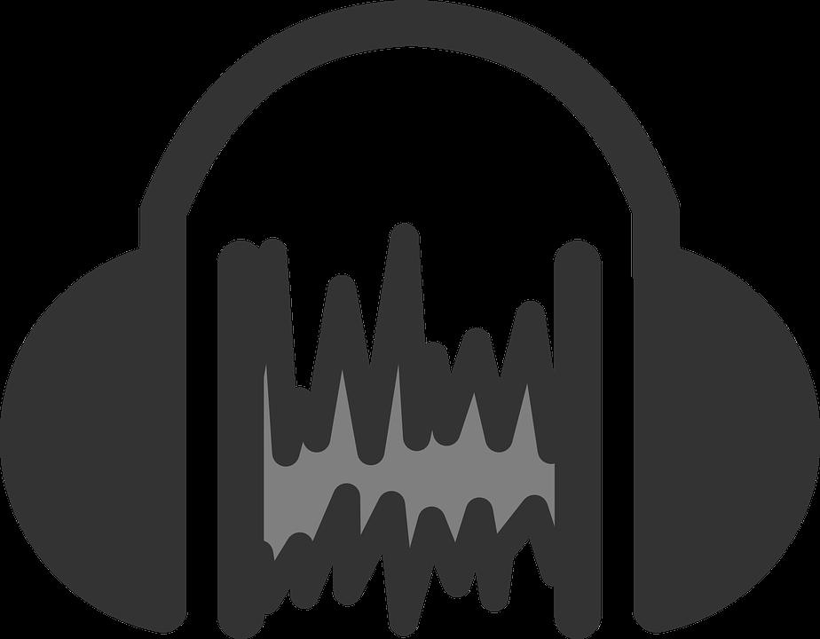Audio, Sound, Headset, Icon, Symbol