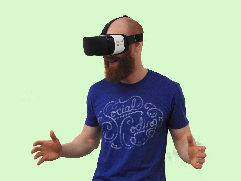 Virtual Reality, Technology, Reality, Virtual, Headset