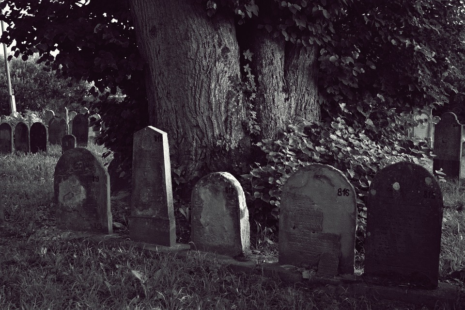 Cemetery, Jewish, Headstone