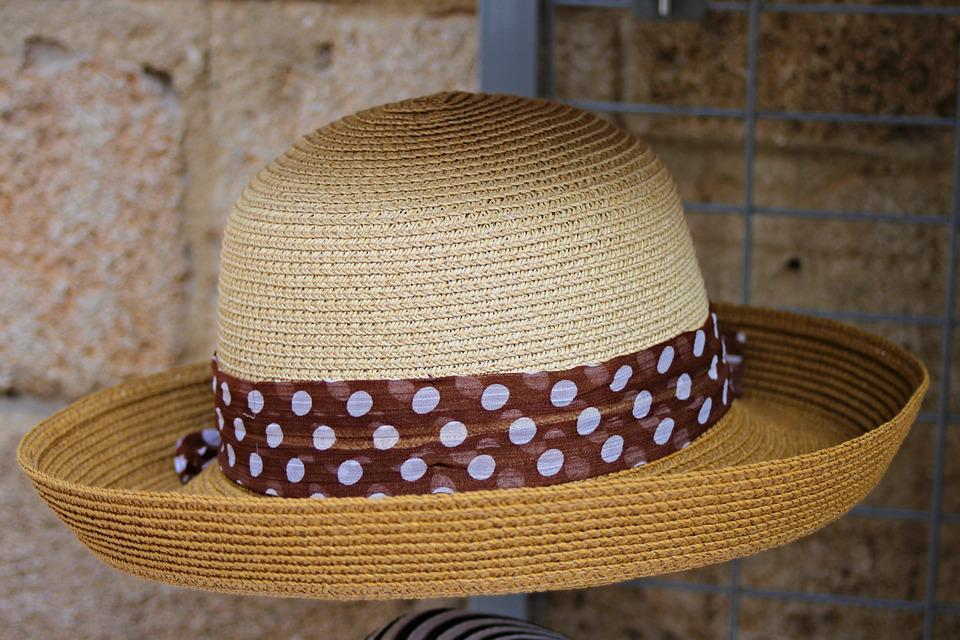 Straw Hat, Sun Hat, Hat, Headwear, Sun Protection