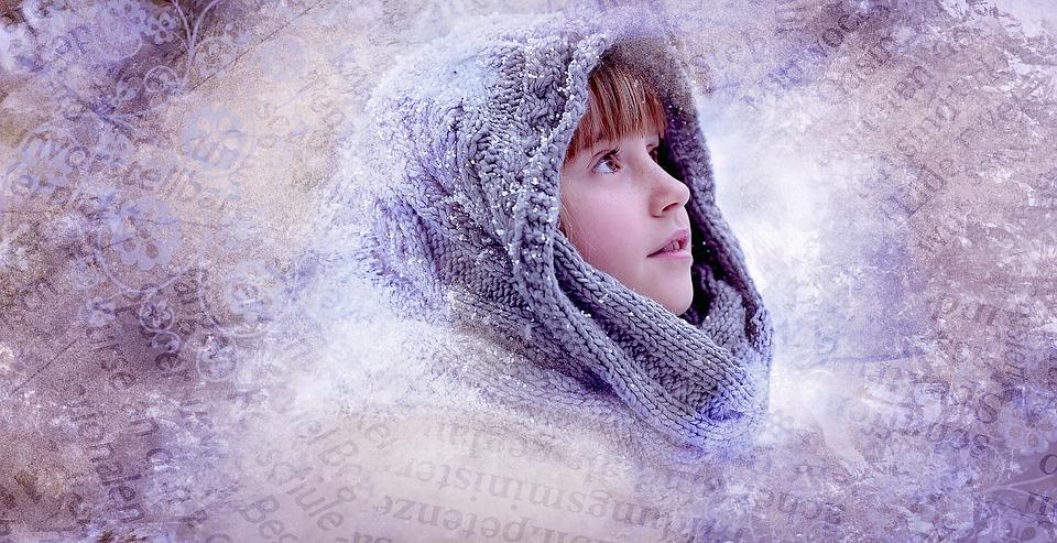 Person, Human, Child, Girl, Face, Winter, Headwear