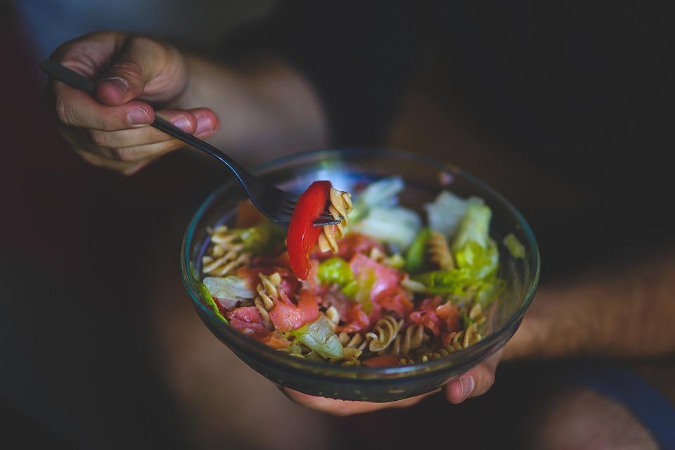 Eat, Eating, Salad, Health, Healthy, Tomato, Food