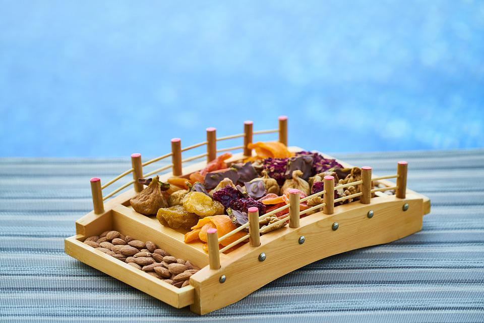 Dried Fruits And Nuts, Snack, Food, Nutrition, Health