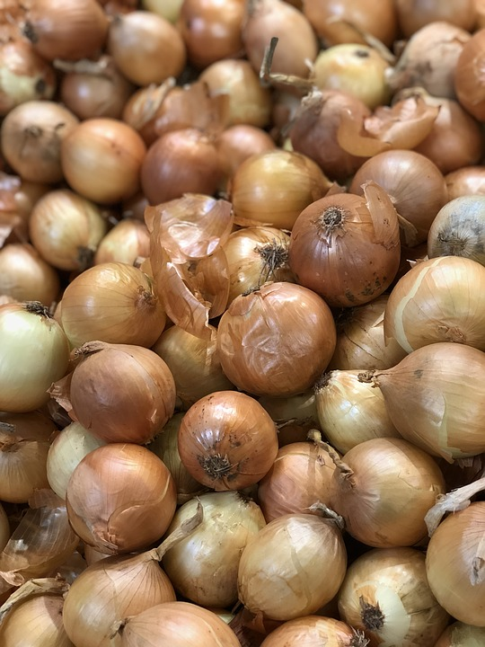 Onions, Yellow, Food, Health, Eat, Color, Cook