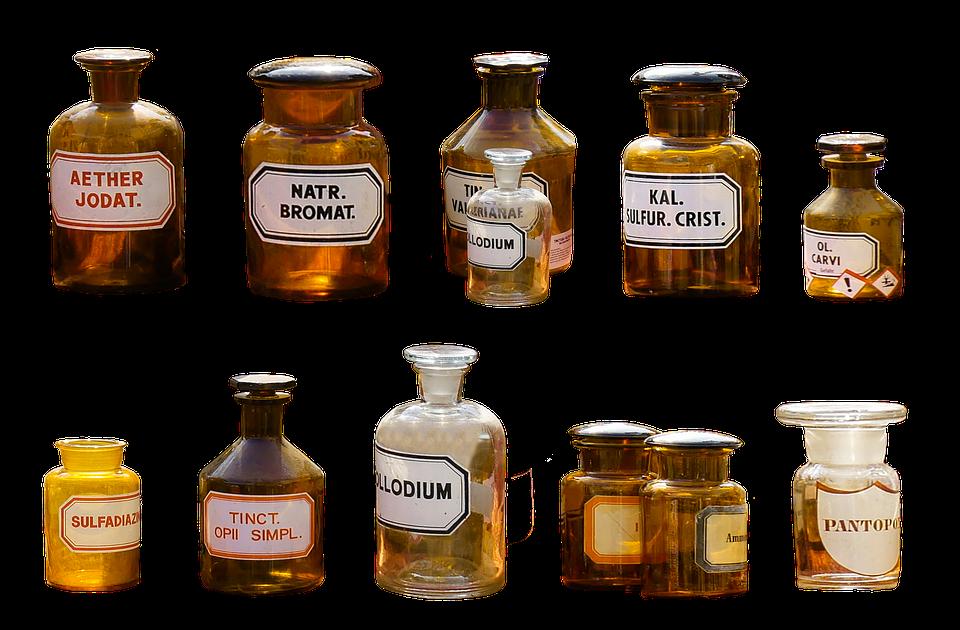 Pharmacy, Isolated, Health, Medical, Bottle, Drug
