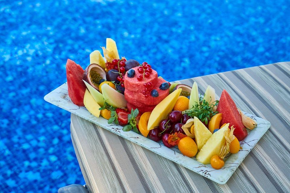 Pool, Fruit, Health, Spa, Vitamin, Organic, Juice