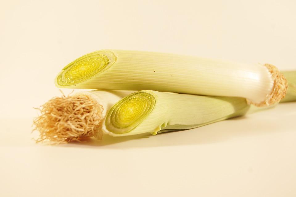 Leek, Vegetables, Health, Vitamins, A Vegetable, Eating