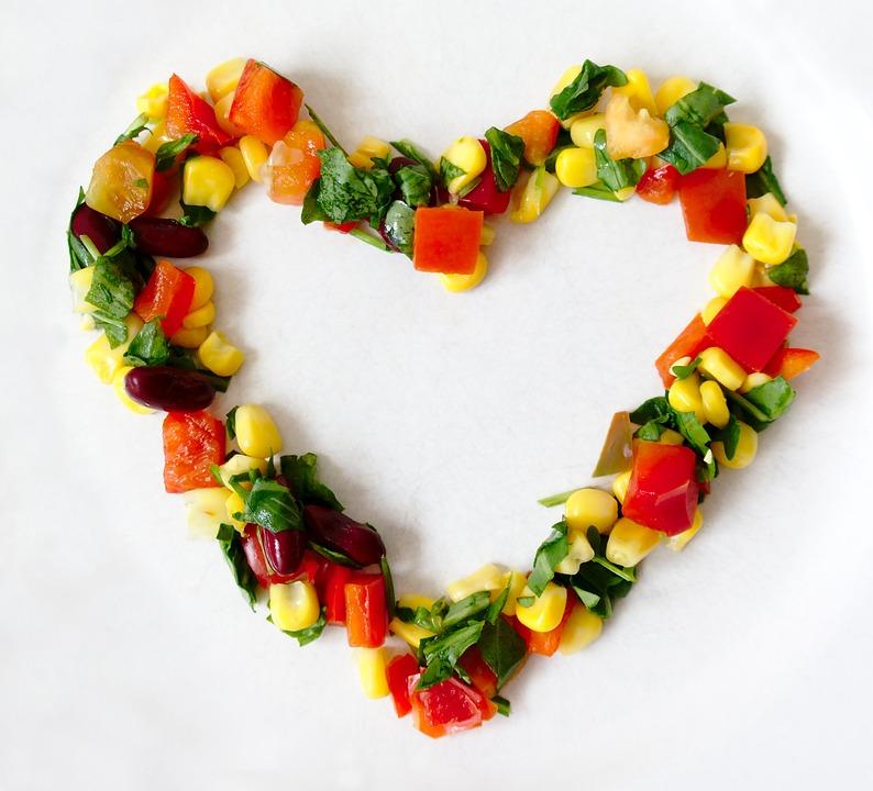 Vegetables, Heart, Love, Health, Vegan, Vegetarian