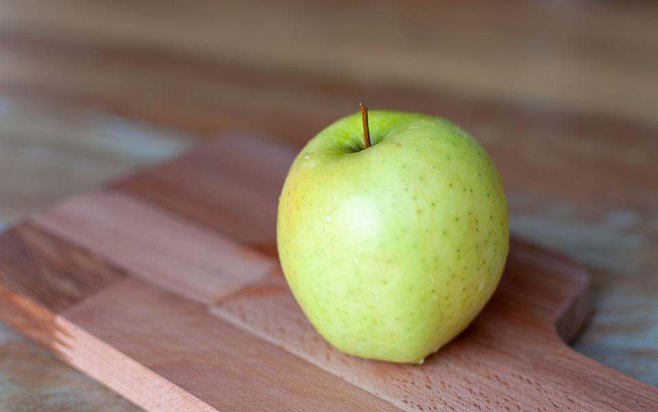 Apple, Fruit, Eating, Healthy, Green, Nature, Vitamins