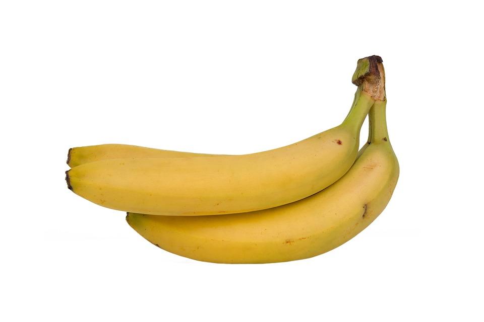 Banana, Fruit, Food, Health, Healthy, Isolated