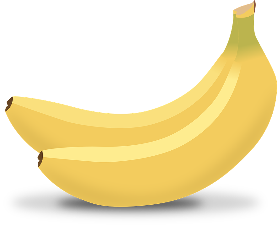 Bananas, Yellow, Tropical, Fruits, Food, Sweet, Healthy