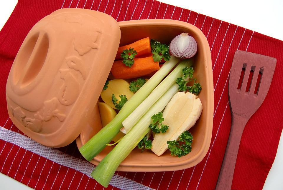 Clay Pot, Vegetables, Remove, Cook, Healthy, Vegetarian