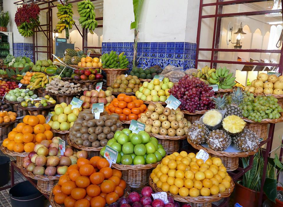 Market, Fruit, Healthy, Eat, Nutrition, Colorful