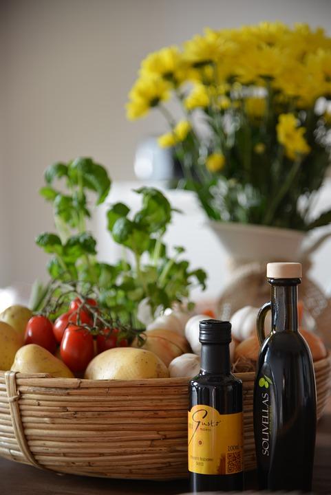 Eat, Food, Vinegar, Oil, Vegetables, Healthy, Vitamins